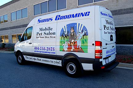 Hanvey Grooming Vans Amp Sprinter Mobile Grooming Van And