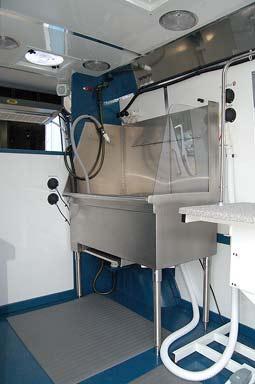 Hanvey HGV 4 Mobile Grooming Vans And Sprinter Hybrid
